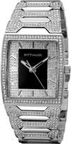 Wittnauer Men's WN3037 30mm Stainless Steel Silver Bracelet Watch