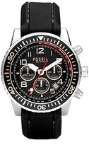 Fossil Men's CH2626 Polyurethane Strap Analog Dial Chronograph Watch