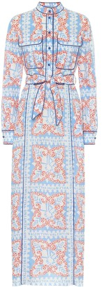 Valentino Exclusive to Mytheresa Printed cotton shirt dress
