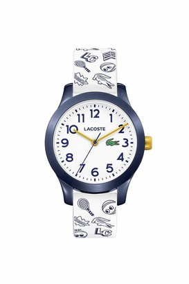 Lacoste Kids' TR90 Quartz Watch with Rubber Strap