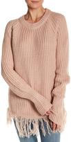 Cotton Emporium Fringe Sweater