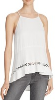 Ella Moss Stella Open-Stitch Top