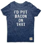 Original Retro Brand Boys' I'd Put Bacon On That Tee - Little Kid