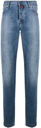 Kiton Low Rise Straight Leg Jeans