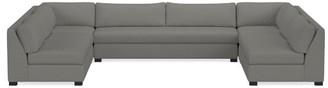 Williams-Sonoma Ghent Slope Arm, 5-Piece U-Shape Armless Sofa