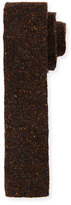 HUGO BOSS Flecked Donegal Knit Tie, Brown