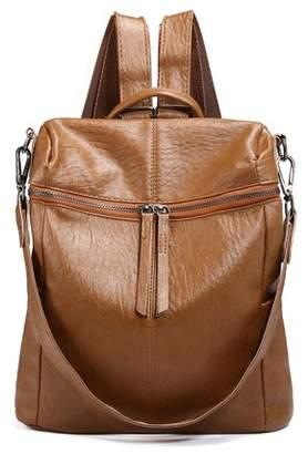 Meigar Fashion Women Girls School Leather Backpack Travel Handbag Rucksack Shoulder Bag Tote