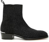 Alexander McQueen Glitter Boots