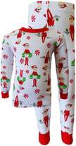 AME Sleepwear Elf on the Shelf 100% Cotton Christmas Pajamas for boys