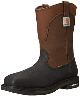 "Carhartt Men's 11"" Wellington Square Safety Toe Work Boot CMP1258"