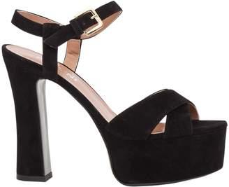 Pollini Suede Sandals