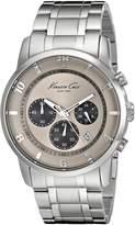 Kenneth Cole New York Men's KC9292 Dress Sport Chronograph Sub-Eye Analog Bracelet Watch