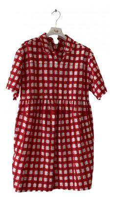 Marni Red Cotton Dresses