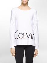 Calvin Klein Performance Oversized Logo Top
