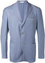 Boglioli three-button jacket - men - Silk/Cupro/Virgin Wool - 50
