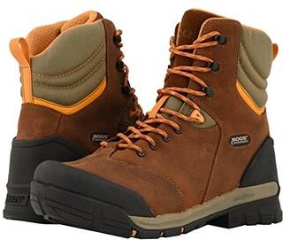Bogs Bed Rock 8 Soft Toe (Brown Multi) Men's Boots