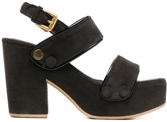 See by Chloe Galy slingback suede sandals