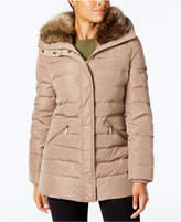 MICHAEL Michael Kors Faux-Fur-Collar Puffer Coat