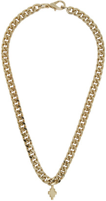 Marcelo Burlon County of Milan Gold Cross Chain Necklace