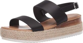 Yoki Low Platform Espadrille Sandal