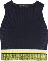 Rag & Bone Sheridan ribbed-knit cropped top