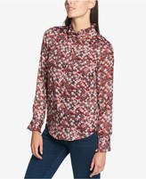 Tommy Hilfiger Ruffled-Collar Blouse, Created for Macy's