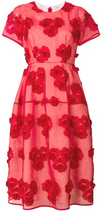 P.A.R.O.S.H. Full Shape Flower Dress