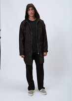 Our Legacy Black Groove Nylon Fly Parka