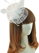 QUEEN STYLE Woman's Fashion Hairpin Bride Modelling Hair accessories Feather Head flower