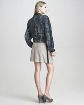 See by Chloe Digital-Print Silk Jogging Jacket