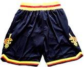 SnoKKe Men's Basketball Shorts White M