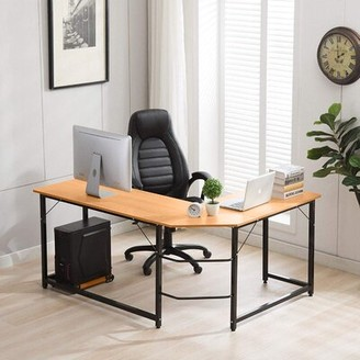Hany L-Shape Desk Ebern Designs