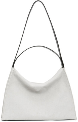 Aesther Ekme White Canvas Tote