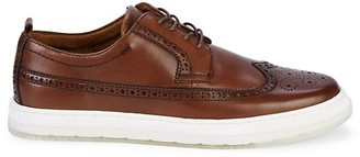 Kenneth Cole Calix Wingtip Leather Sneakers