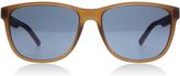 Tommy Hilfiger 1403/S Sunglasses Matte Brown / Burgundy R6U 56mm