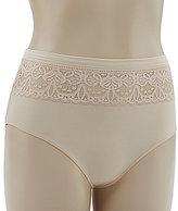 TC Fine Shapewear TC Fine Edge Micro & Lace Brief Panty