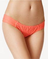 Roxy Crocheted Cheeky Hipster Bikini Bottoms