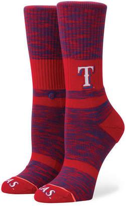 Stance Women Texas Rangers Classic Crew Socks