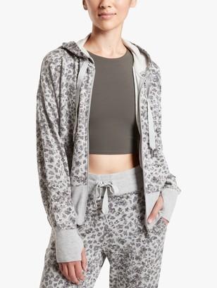 Athleta Balance Spot Print Sweatshirt, Grey
