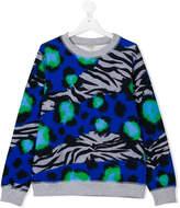 Kenzo animal print sweatshirt