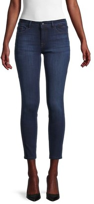 DL1961 Low-Rise Cropped Skinny Jeans
