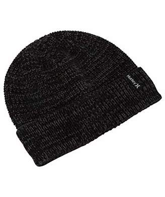 Hurley Men's Stretch Knit Cuffed Slouchy Winter Beanie