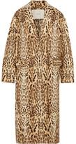 ADAM by Adam Lippes Leopard-print Wool-gabardine Coat - Leopard print