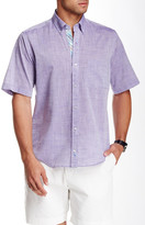Tailorbyrd Woven Short Sleeve Shirt