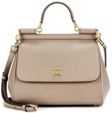 Thumbnail for your product : Dolce & Gabbana Sicily Medium leather shoulder bag