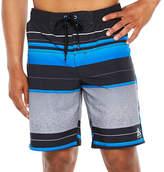 ZeroXposur Stripe Board Shorts