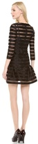 Sonia Rykiel Sonia by Striped Drop Waist Dress