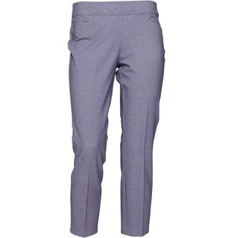 adidas Womens Ultimate Adistar Crop Heathered Pants Trace Grey Heather
