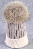 Tigerlily Fur Pompom Hat