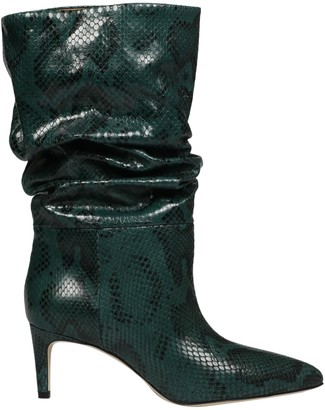 Paris Texas Slouchy Pythoned Boots